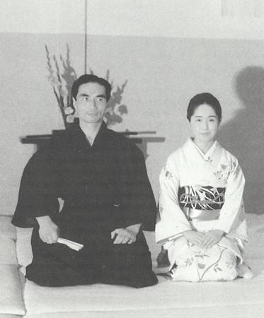 Hiroshi Tada Sensei and Kumi