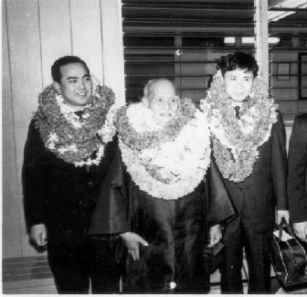 Morihei Ueshiba, Koichi Tohei, Nobuyoshi Tamura