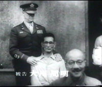 Okawa Shumei and Hideki Tojo