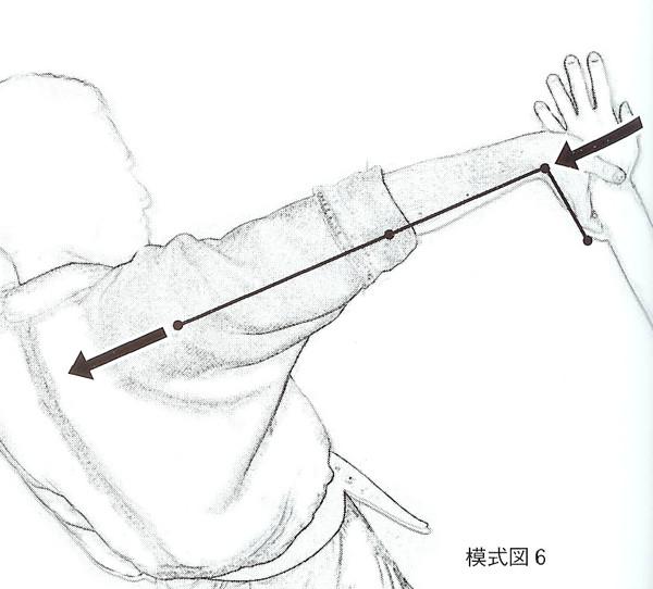 合気投げ-模式図 6