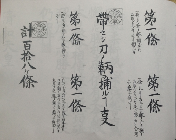 Hiden Mokuroku 118 Techniques