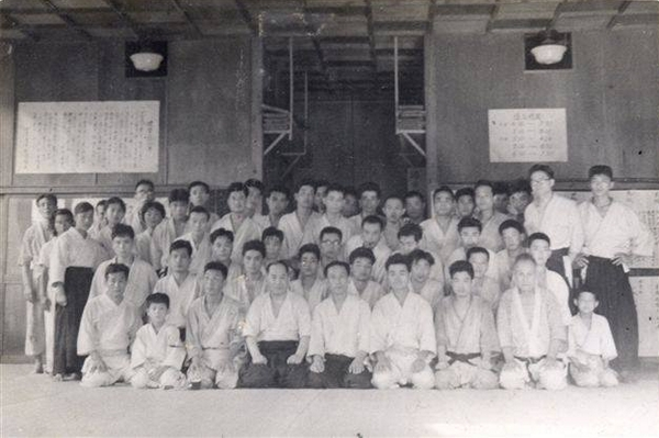 Aikikai Hombu Dojo around 1957