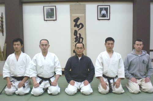 Tsuneo Ando and students