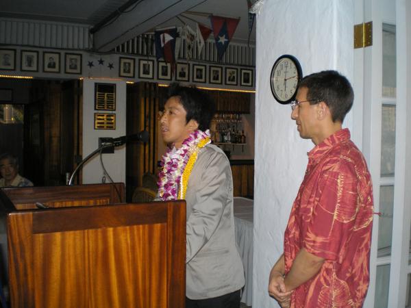 Mitsuteru Ueshiba Sensei in Hawaii