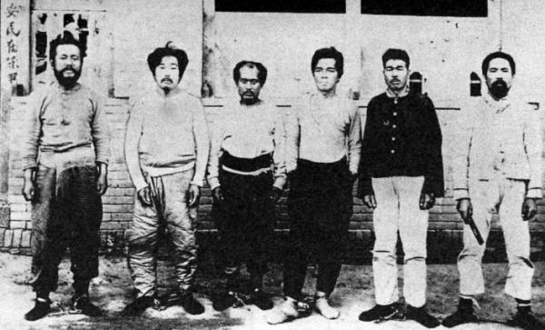 Onisaburo Deguchi and Morihei Ueshiba