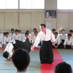 Eiichi Kuroiwa teaching Aikido