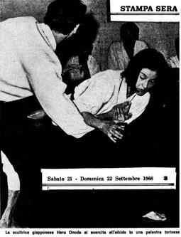 Haru Onada in 1968