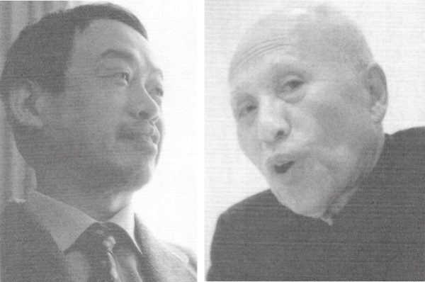 Hiroshi Sagawa and Tatsuo Kimura