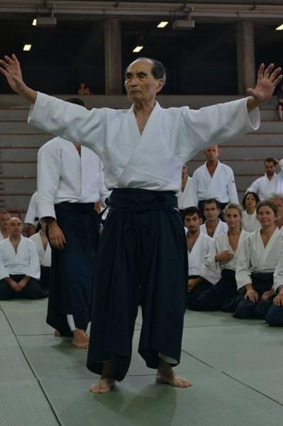 Aikido Shihan Hiroshi Tada in 2014