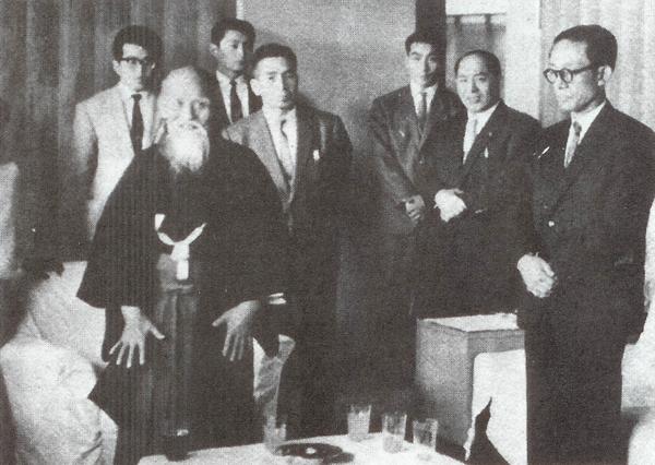 Hiroshi Kato and Morihei Ueshiba