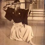 Yoshio Sugino demonstrates Katori Shinto-ryu