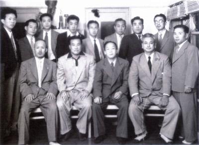 Kenichi Sawai and Mas Oyama