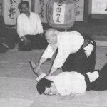 Aikikai Hombu groundbreaking demonstration - 1966