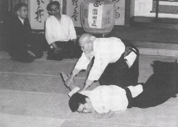 Aikikai Hombu groundbreaking demonstration - 1966