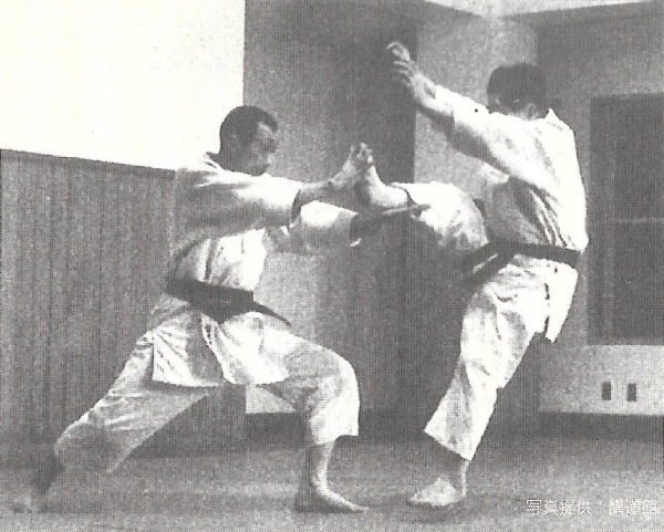 Kenji Tomiki and Hideo Ohba