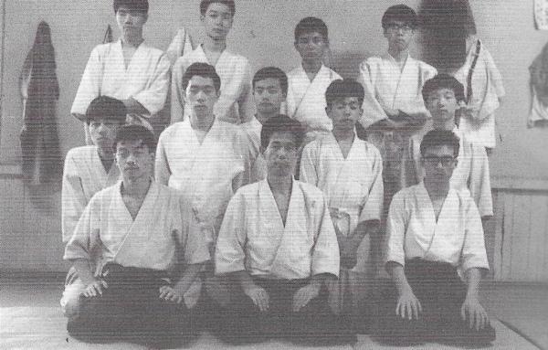 Tatsuo Kimura and Seigo Yamaguchi in Karuizawa, 1968