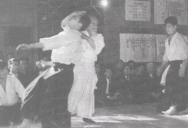 Yasuo Kobayashi in Old Hombu Dojo