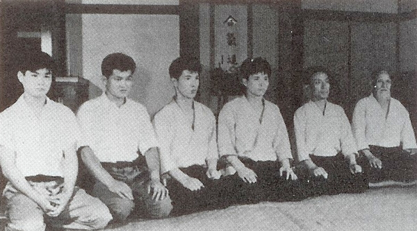 Kuroiwa at Aikikai Hombu