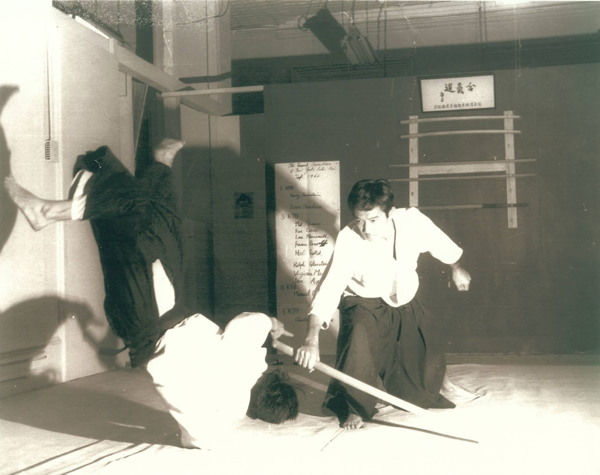 Meyer Goo and Eddie Hagihara at the New York Aikikai