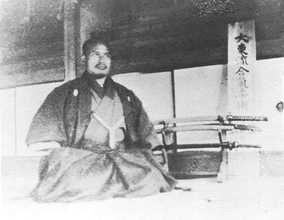 Morihei Ueshiba in Ayabe, 1922