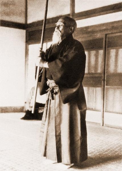 Morihei Ueshiba Kagura Mae