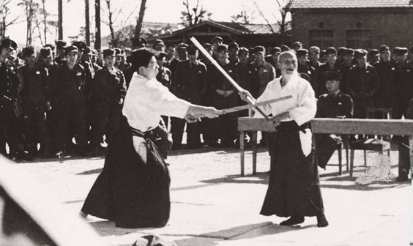 Self Defense Forces Demonstration 1955