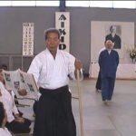 "Morihiro Saito teaching from the 1938 technical manual ""Budo"""