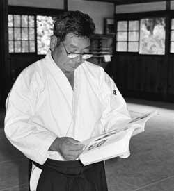"Morihiro Saito reading ""Budo"""