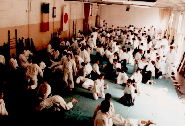 The Italian Aikikai Hombu Dojo in Rome