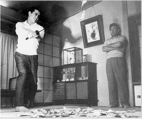Sadaharu Oh and Hiroshi Arakawa