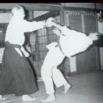 Yukiyoshi Sagawa demonstrates Aiki-nage