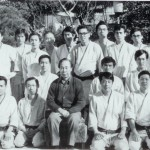 January 1974, Dojo-biraki at Sagawa Dojo