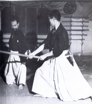 Training in Katori Shinto-ryu