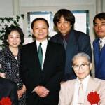 Shoji Nishio and Moriteru Ueshiba