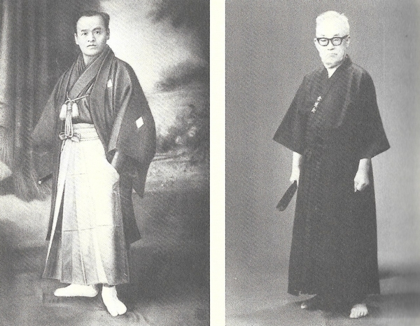 Sokaku Takeda and Kodo Horikawa