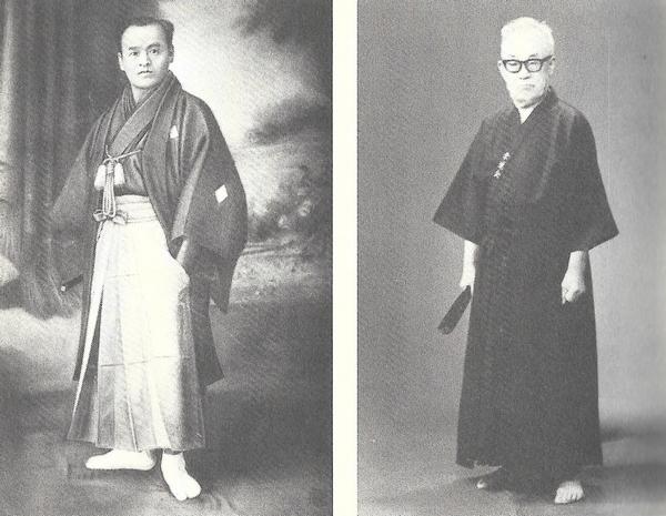 Sokaku Takeda and Kodo Horikawa