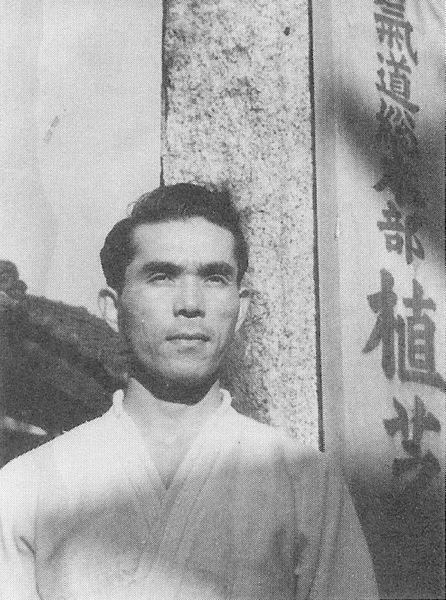 Kanshu Sunadomari at Ueshiba Dojo