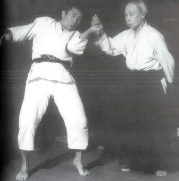 Yukiyoshi Sagawa Aiki-nage