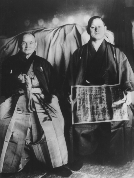 Takuma Hisa and Sokaku Takeda