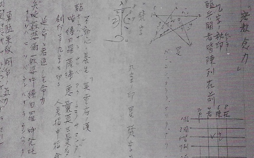 Tokimune Takeda's private notes