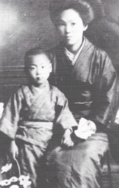 Tokimune Takeda and mother Sue