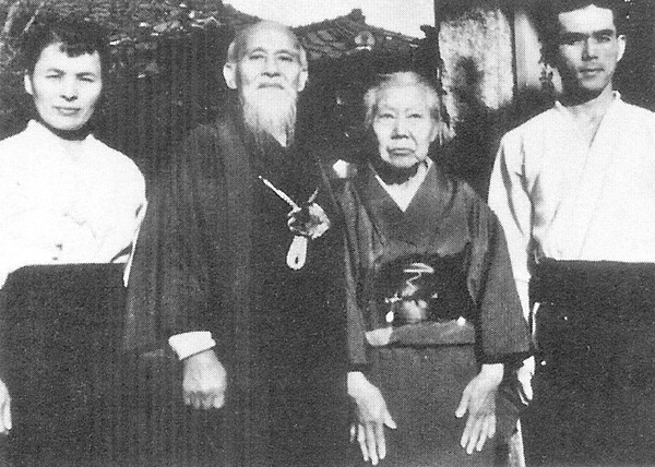 Ueshiba Dojo in 1954