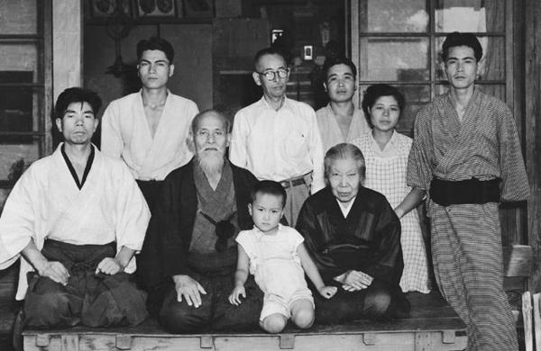 Morihiro Saito in Iwama, 1955
