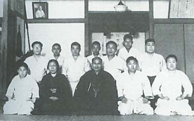 Morihei Ueshiba at the Kobukan 1931