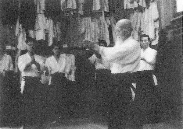 Morihei Ueshiba Manseikan 1963