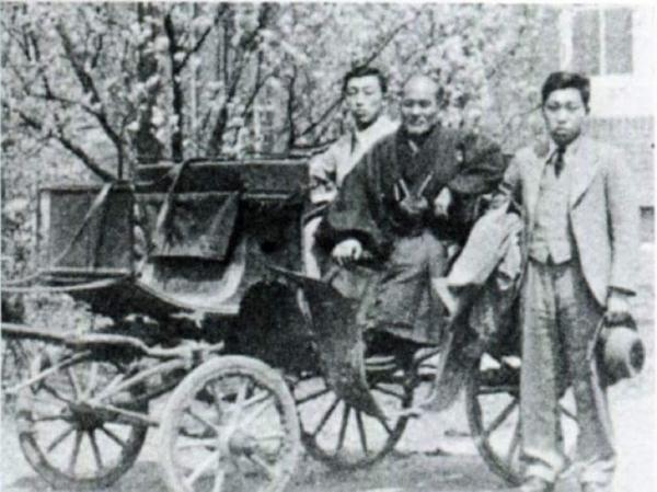 Ueshiba Morihei and Kenji Tomiki