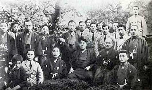 Morihei Ueshiba and Onisaburo Deguchi