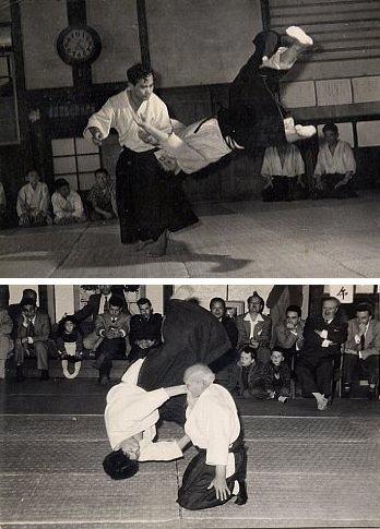 Yasuo Kobayashi taking ukemi